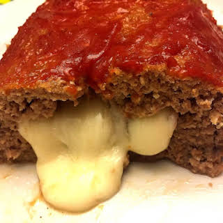 Easy Cheese Stuffed Meatloaf.