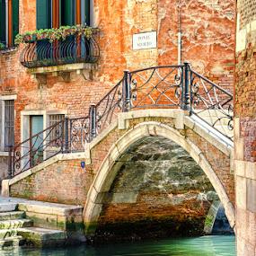 Ponte Storto,Venice by Rory McDonald - Landscapes Travel