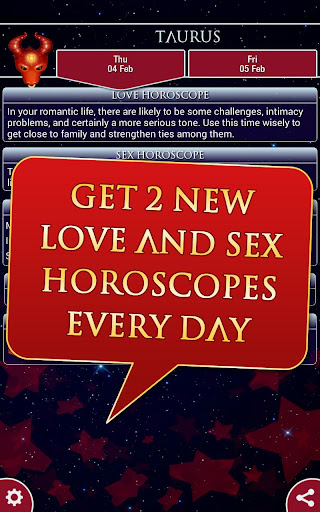 Free sex horoscopes on love