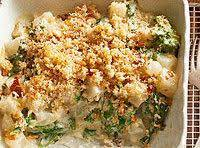 Turnips, Greens, And Pearl Onion Gratin