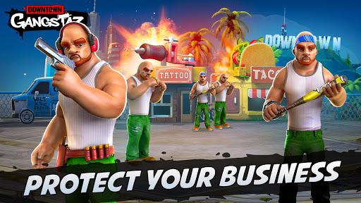 Downtown Gangstaz - Hood Wars android2mod screenshots 6