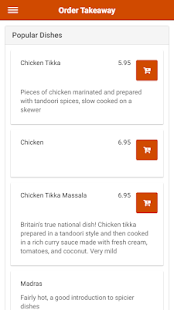 Golden Curry Indian Restaurant in Milton Keynes- screenshot thumbnail
