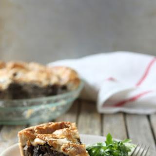 Wild Mushroom Pie with Parmesan Crust