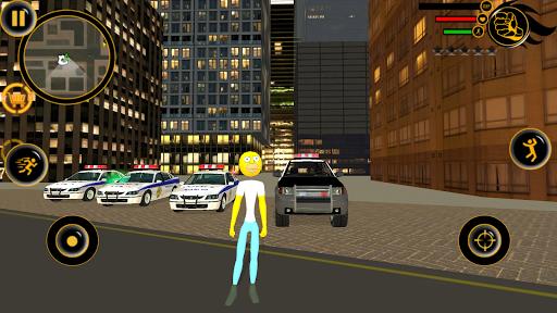 Stickman Sinpson Rope Hero Crime City Battle screenshot 3