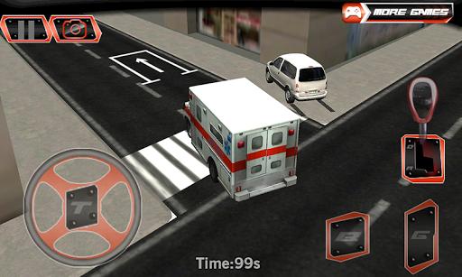 市救護車停車3D