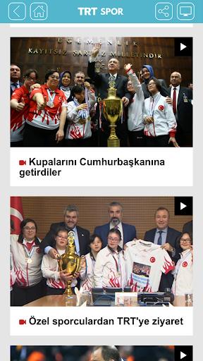 TRT Spor screenshot 5