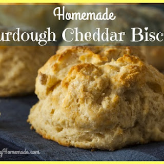 Sourdough Cheddar Biscuits