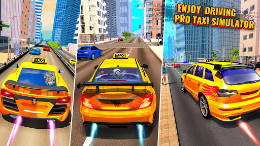 Pro Taxi Driver : City Car Driving Simulator 2020 1.1.8 screenshots 3