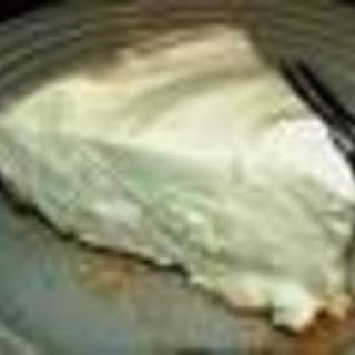 Weight Watcher's Key Lime Pie.