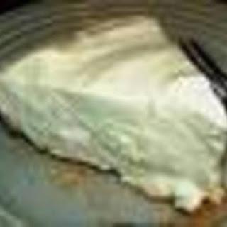 Weight Watcher's Key Lime Pie.