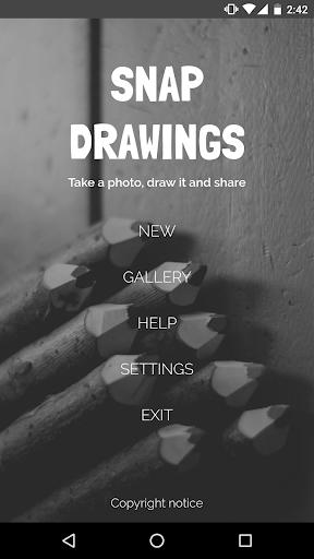 玩免費遊戲APP|下載Snap Drawings app不用錢|硬是要APP