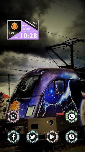Train with Thunder Theme