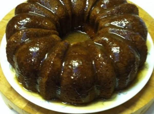 Caramel And Apple Bundt Cake Recipe