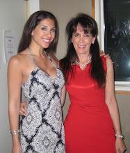 Photo: Julie Spira with Cosmo Radio's Diana Falzone