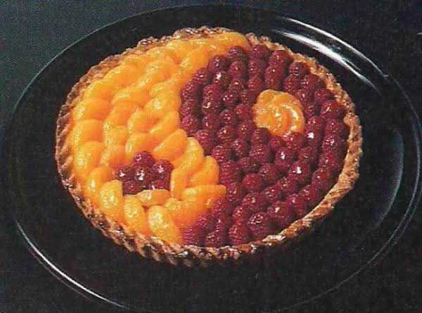 Yin-yang Raspberry And Mandarin Orange Tart Recipe