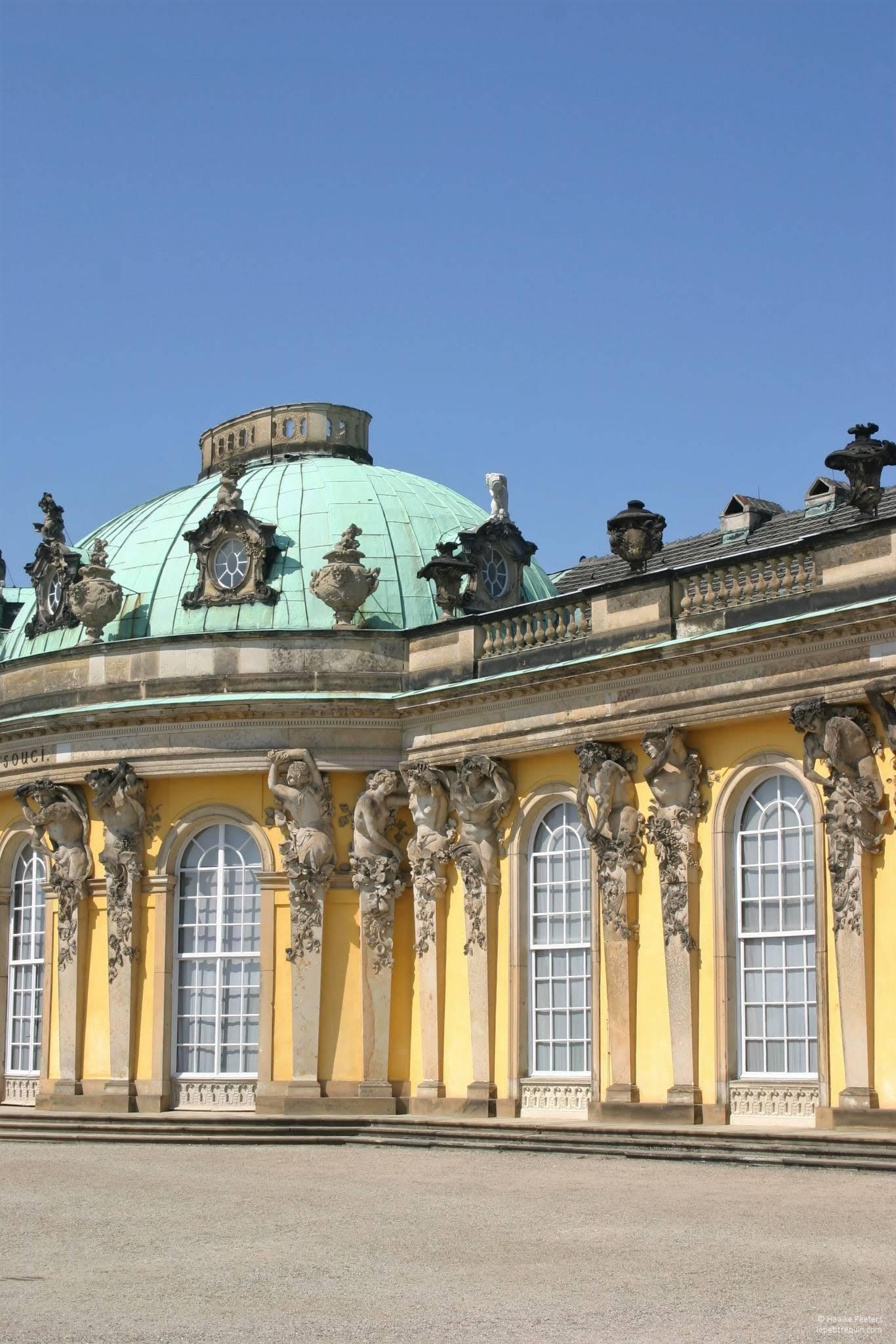 Schloss Sanssouci Potsdam (Le petit requin)