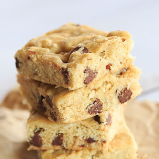 Bourbon, Pecan, Coconut & Chocolate Chip Cookie Bars