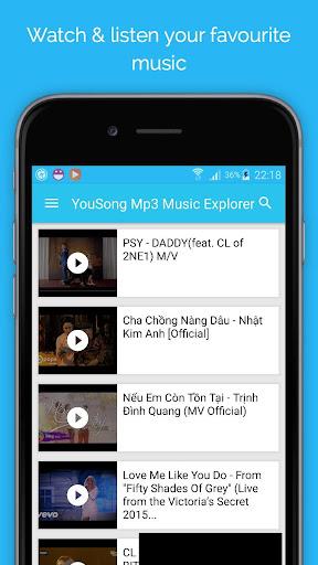YouSong Mp3 Music Explorer