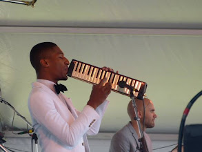 Photo: Jon Batiste (photo by Claire Laster)