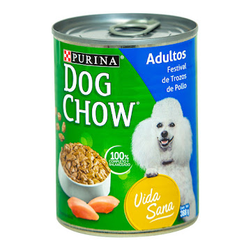 Alimento Para Perros Dog   Chow Festival Trozos De Pollo X368g