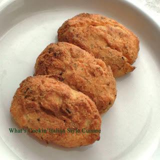 Italian Style Sweet Potato Croquette