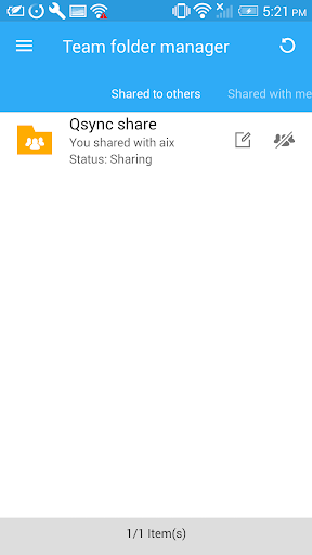 Qsync screenshot 5