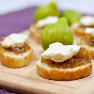 Fig & Brie Appetizers.