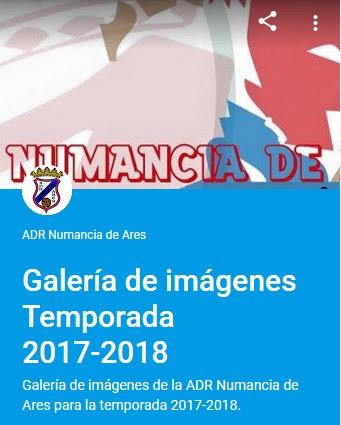 ADR Numancia de Ares. Galería Fotográfica temporada 2017-2018