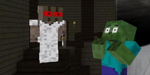 Mod Granny Horror for Minecraft PE 1.0 screenshots 1