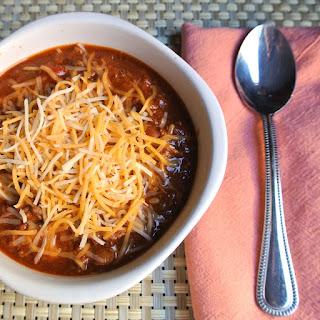 Gluten Free Crockpot Chili