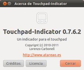 Liberado Touchpad-Indicator 0.7.6.2 con mayor soporte