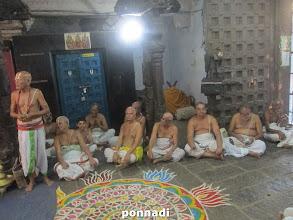 Photo: thiruppAvai gOshti after thirumanjanam