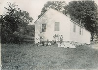 Guilford School House No. 6 and Pupils