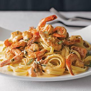 Easy Shrimp Pasta for Two.