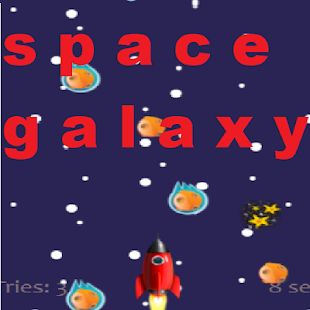 Space galaxy - náhled