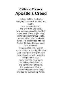 Catholic Prayers Apostles Creed - náhled