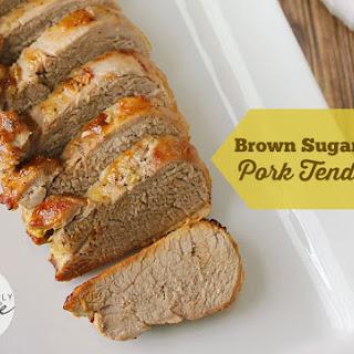 Brown Sugar Dijon Pork Tenderloin.