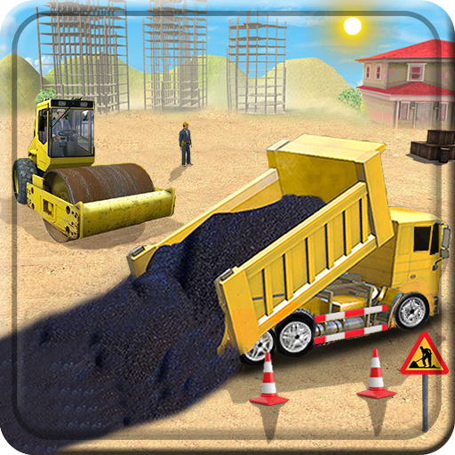 New City Road Construction 3D Game - Build City