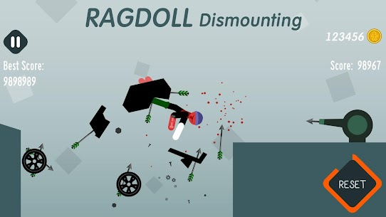 Ragdoll Dismounting 1.55 MOD + APK + DATA Download 2