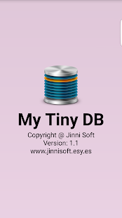 My Tiny DB- screenshot thumbnail