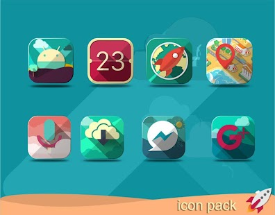 Destiny Nougat - icon pack Themes icon pack ios11- screenshot thumbnail