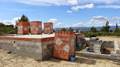 Photo: Bio'bric, oranje stenen en toch groen bouwen A+
