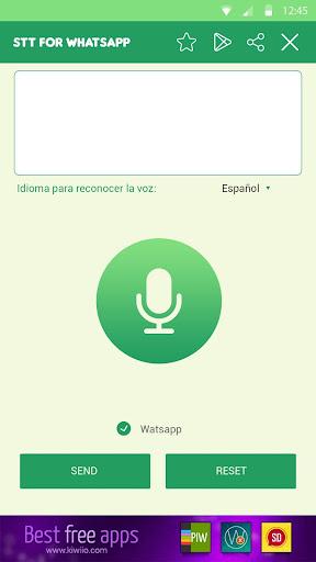 Audio to Text for WhatsApp screenshot 2