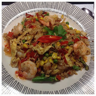 Speedy Prawn Fried Rice.