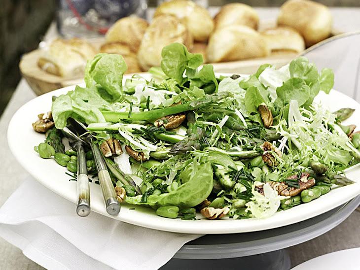 Asparagus and Fava Bean Salad Recipe