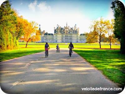 Circuit à vélo de Blois au Château de Chambord