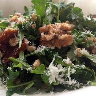 Farro Salad with Arugula, Walnuts, and Parmesan