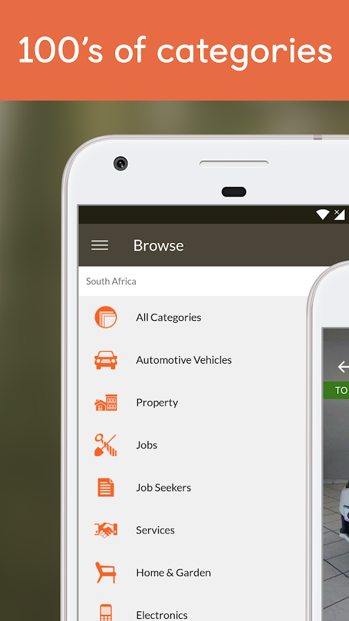 Screenshots of Gumtree SA - Buy & Sell Now for iPhone