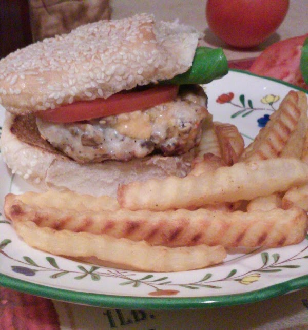 Chicken Patties Stuffed With Smoky Pimento Cheese Recipe