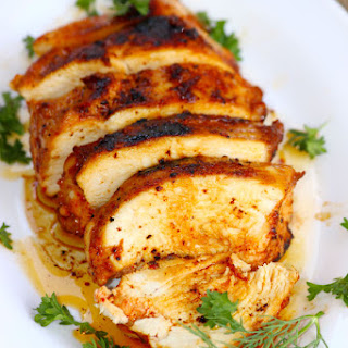 Pan Fried Garlic Chicken Breast Recipe